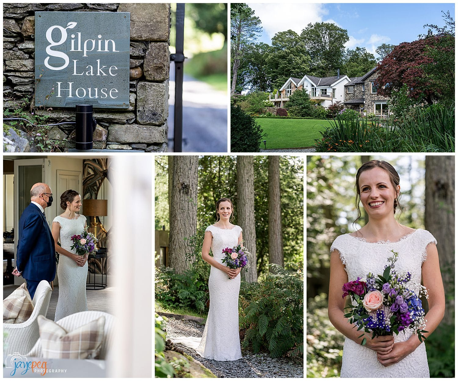 pre wedding photographs at gilpin lake house near windermere